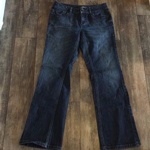 DKNY Size 6 Blue Bootcut Jeans